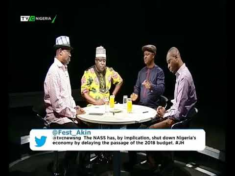 Journalists' Hangout 16th May 2018 | NASS passes 9.1trillion 2018 Budget