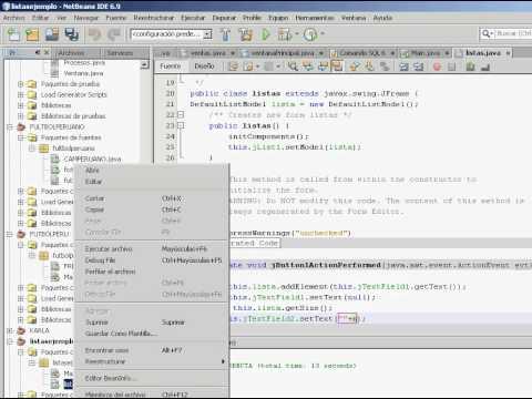 Como hacer interfaz grafica en java netbeans