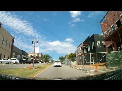 Driving Tour of Senoia, GA