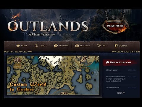 Group Playing UO Outlands: Total Conversion of UO!