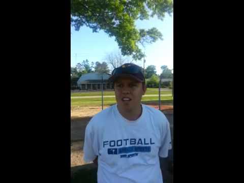 Michael Jenkins Pee Dee Sportswrap