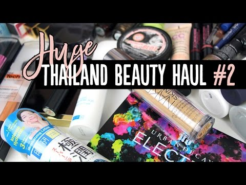 HUGE Thailand Beauty Haul #2 - Sephora, Eveandboy, Boots & More! | Pippopunkie