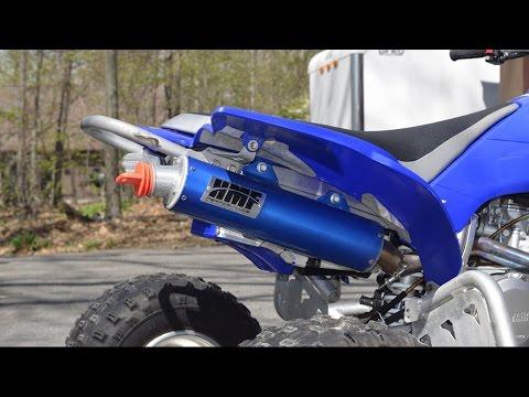♫ ♪ ♫ Yamaha YFZ 450 Exhaust review I SoundCheck ♫ ♪ ♫
