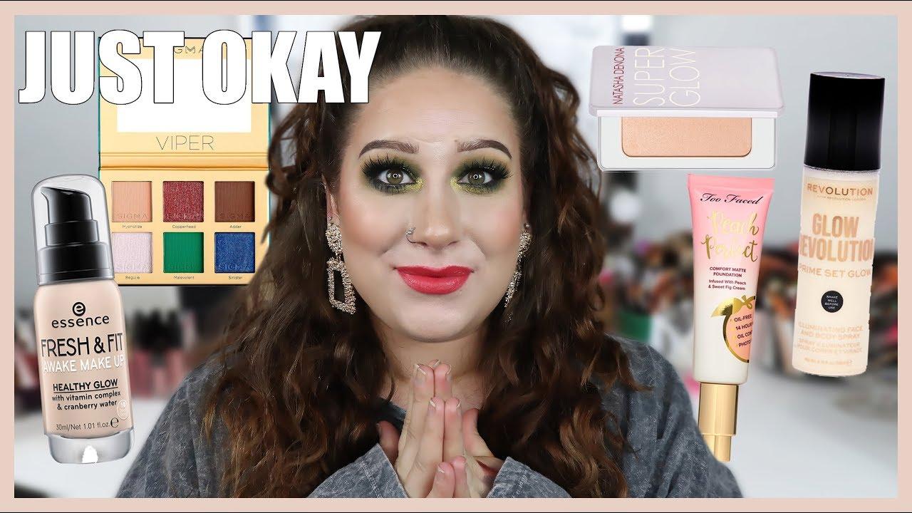Makeup That's Just Okay