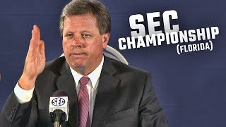 Hear what Jim McElwain said before Florida faced Alabama