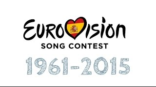 [HD RECAP] España en Eurovisión / Spain in Eurovision 1961-2015 (55 YEARS)