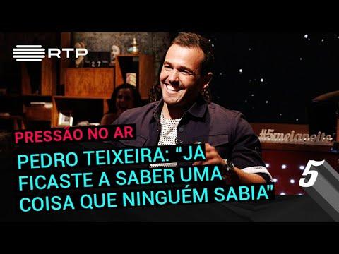 Pedro Teixeira: 'Já ficaste a saber uma coisa que ninguém sabia' | 5 Para a Meia-Noite | RTP
