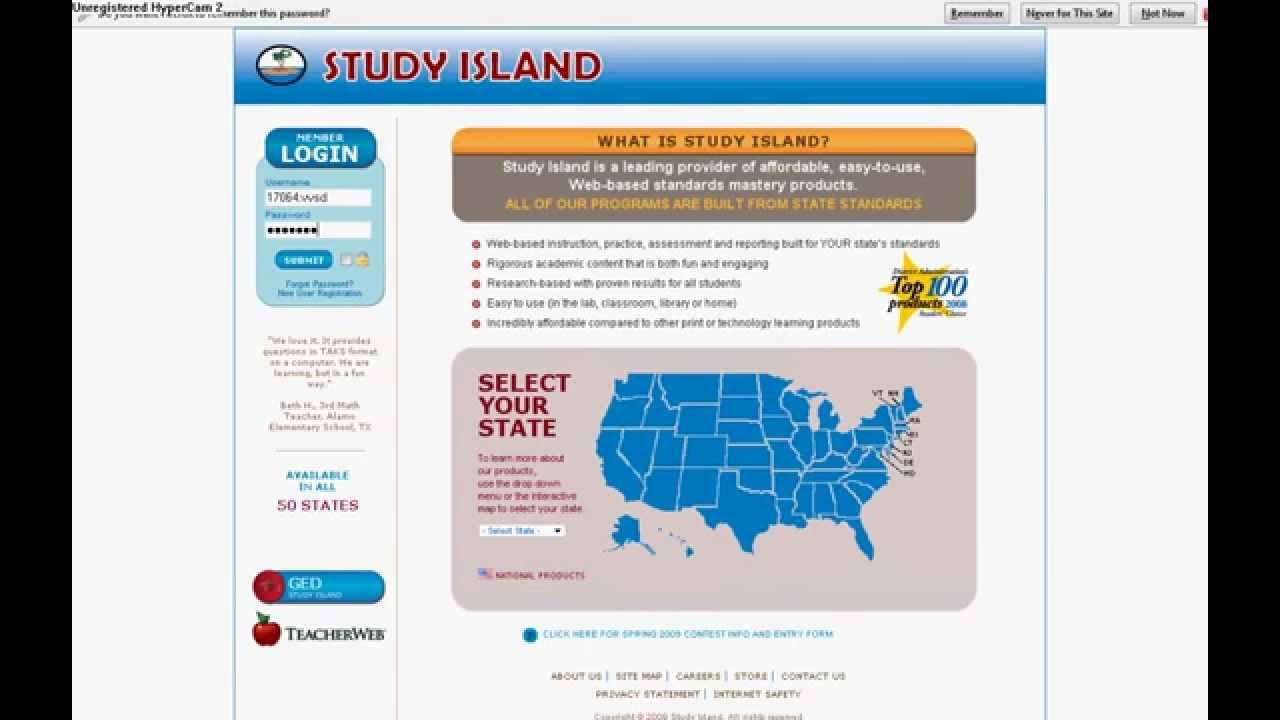Study Island Hacking