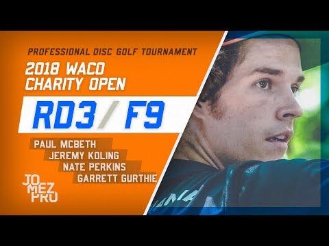 2018 Waco Charity Open | Final Rd, F9, Lead Card | McBeth, Koling, Perkins, Gurthie