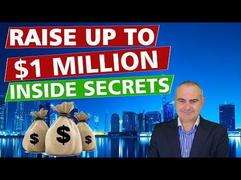 Raise up to $1 Million in Startup Capital - Inside Secrets (2018)