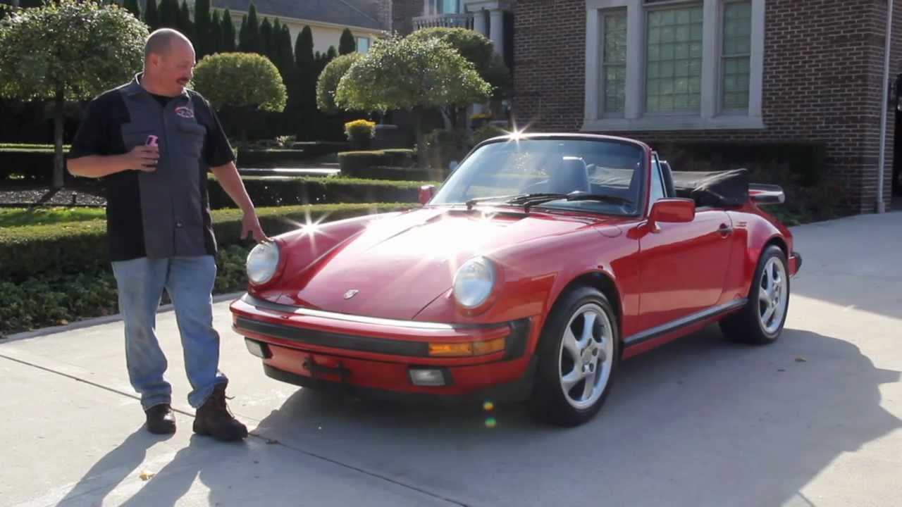 Classic Muscle Cars >> 1989 Porsche 911 Carrera Classic Muscle Car for Sale in MI Vanguard Motor Sales - YouTube