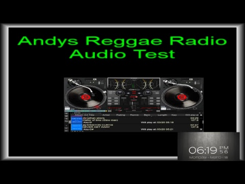 Andys Reggae Radio-Audio Test