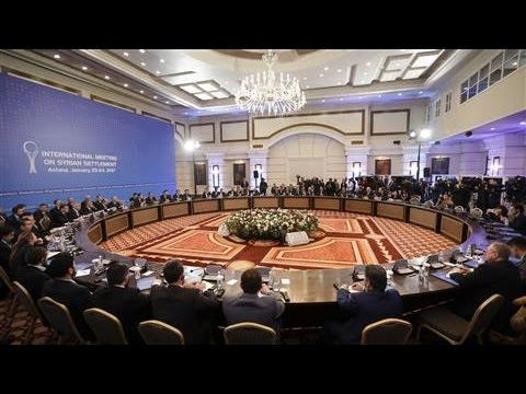 Syria Peace Talks Backed by Russia, Turkey Open