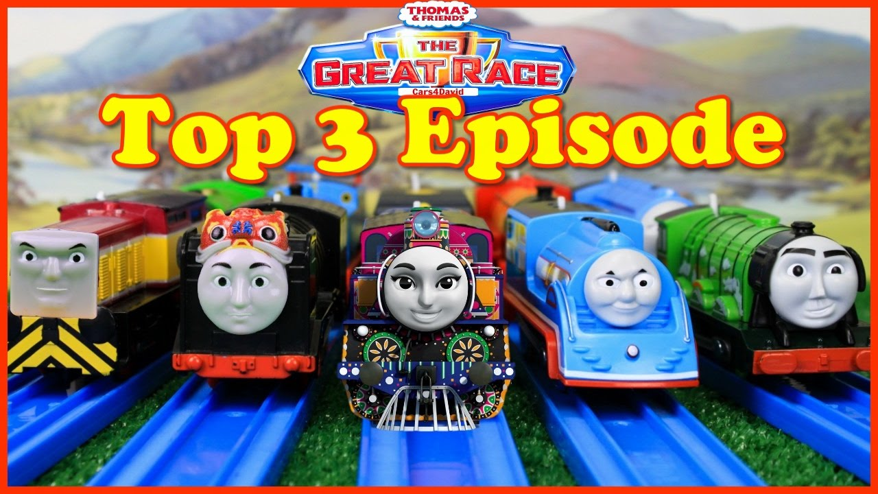 Thomas And Friends The Great Race Trackmaster Compilation
