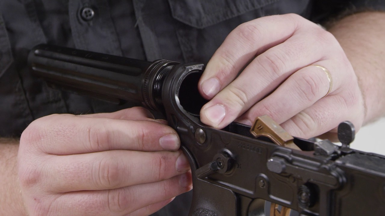 Primary Weapons System MOD 2 Enhanced Buffer Tube Install