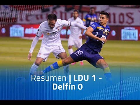 LDU Quito Delfin Goals And Highlights