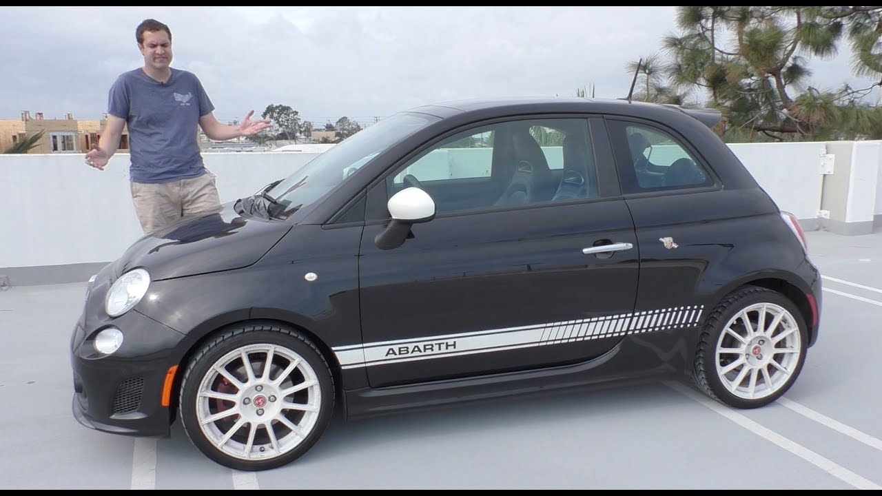 A Used Fiat 500 Abarth Is the Most Fun You Can Have For $9,000