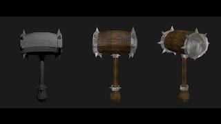 Blender Game Asset Maker:   War Hammer