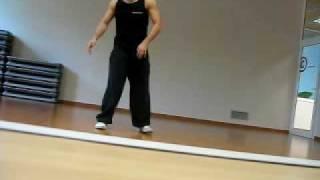 B-boy DavE - Robot Dance in Osona Wellness ( David Arcos Gutierrez )