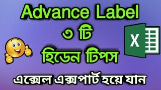 MS Excel Advanced Label 3 Hidden Tips And Tricks In Bangla