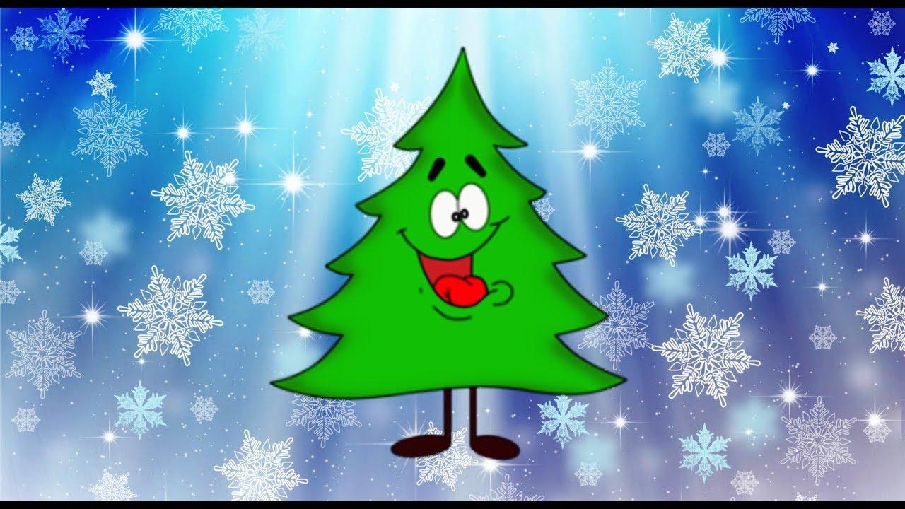 веселые новогодние картинки елки нас