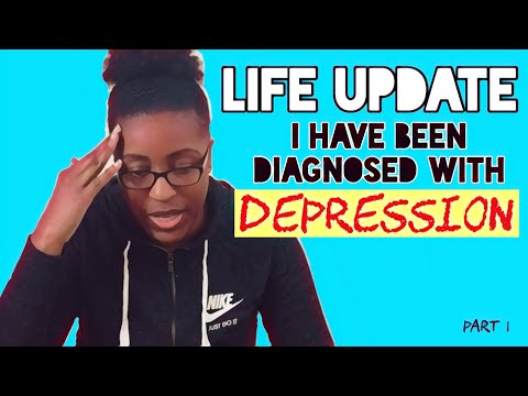 Life Update: Being Diagnosed w/ Depression | Combating Negative Energy | Dealing with Job Stress