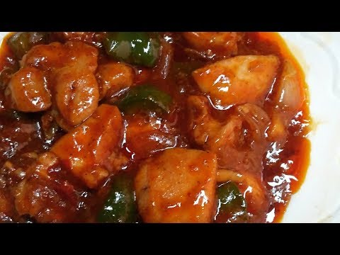 Garlic Chicken Recipe | Restaurant Style Hot And Spicy Garlic Chicken | Chinese Chicken