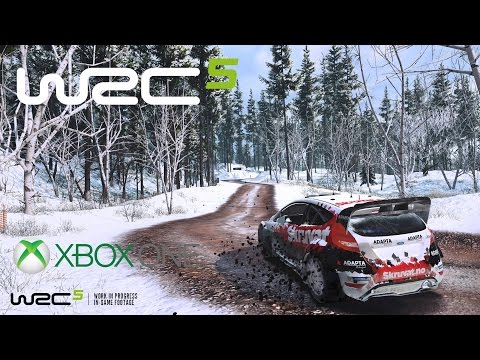 WRC 5 Xbox One Gameplay - WRC Rally Sweden Mit Hyundai I20 WRC