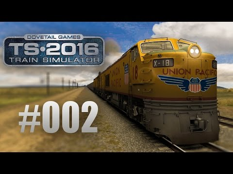 Train Simulator 2016: Union Pacific Railroad mit der Gasturbine #002 - Das Monster auf Rädern!