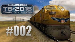 Train Simulator 2016: Union Pacific Railroad mit der Gasturbine #002 - Das Monster auf Rädern!
