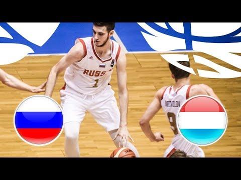 Russia v Luxembourg - Full Game - FIBA U20 European Championship Division B 2018