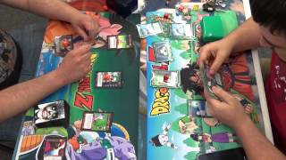 Red Ginyu vs Namekian Nail 9 Jun 15 Dragon Ball Z TCG