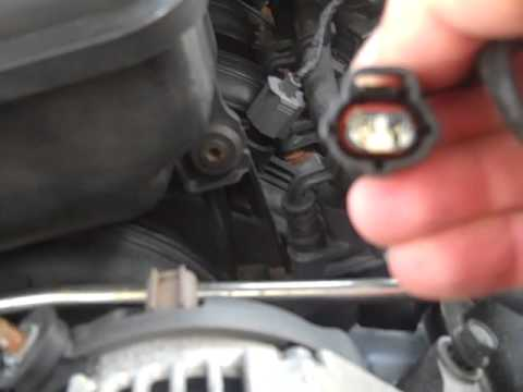Replacing Alternator In 2003 Jeep Liberty 3 7l
