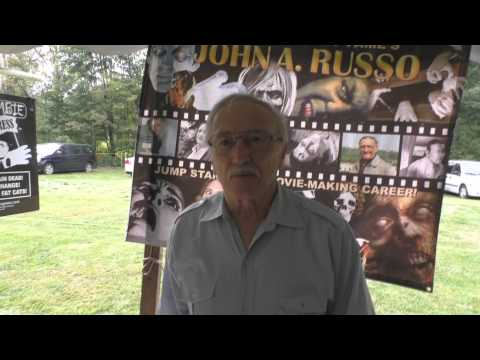 John A. Russo at Infect Scranton 2014 (from Vlog 123)