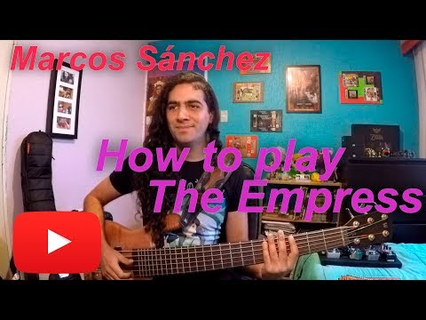 How to play The Empress - BASS LESSON