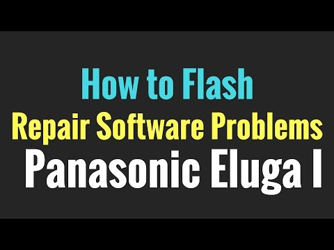 How to Flash OR Repair Software Problems in Panasonic Eluga I (Tested)