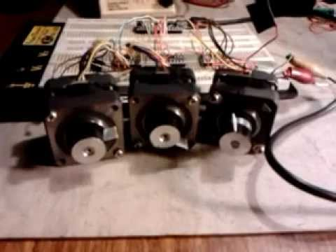 Arduino cnc stepper motor controller test with g for How to test stepper motor