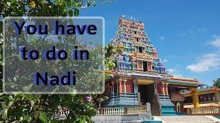 Travel Vlog Exploring Nadi Town in Fiji
