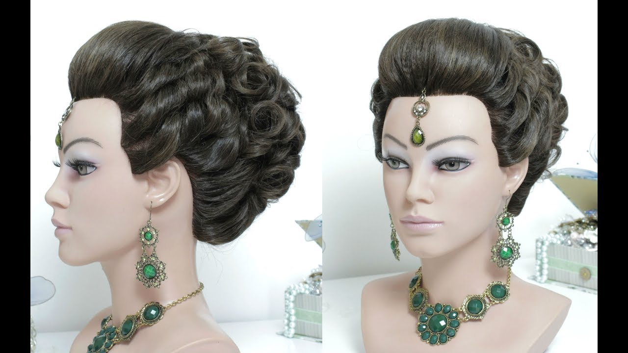 Hairstyles Juda: Indian Juda Hairstyle. Bridal Style For Long Hair