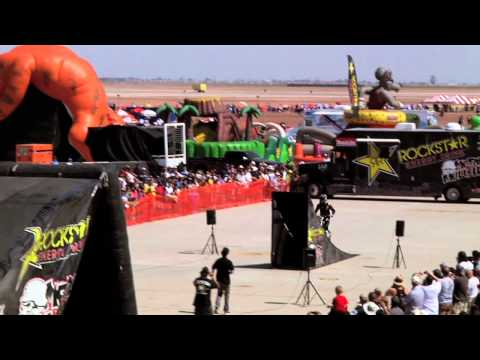 2012 El Centro Air Show with The Rockstar Energy Metal Mulisha FMX team