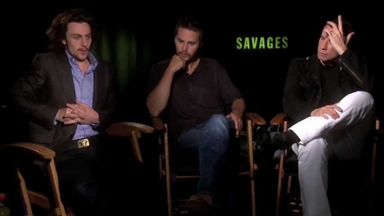 Taylor kitsch aaron taylor johnson and john travolta interview