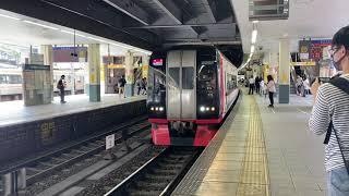 名鉄2200/2300系金山発車