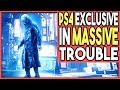 PS4 EXCLUSIVE IS IN MASSIVE TROUBLE - POSSIBLE CANCELLATION!?