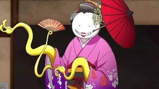 Koro Sensei and class 3-E go on a school trip to Kyoto, the mecha o...
