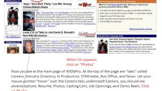 IMDb How-to: Full Photo Credit Guide