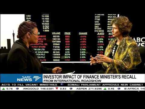 JSE CEO, Nicky Newton-King on Gordhans roadshow recall