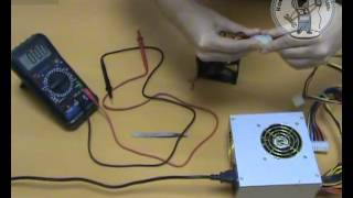 Тестирование блока питания компьютера