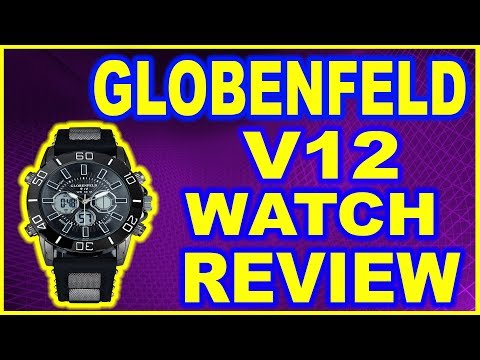 GlobenFeld V12 Mens watch REVIEW!!
