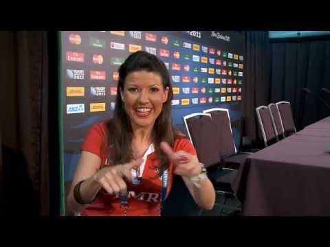 Wales-Fiji Press Conference - Rugby World Cup