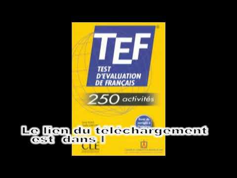 250 ACTIVITS GRATUIT TÉLÉCHARGER TCF